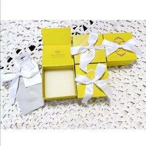 Kendra Scott Yellow Magnetic Gift Boxes